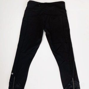 Black Lululemon Leggings SZ 6